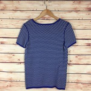 Comptoir Des Cotonniers Sweaters - Comptoir Des Cotonniers Short Sleeve Sweater Blue